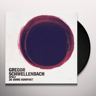 Gregor Schwellenbach SPIELT 20 JAHRE KOMPAKT Vinyl Record - w/CD