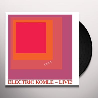Bushman'S Revenge ELECTRIC KOMLE - LIVE Vinyl Record