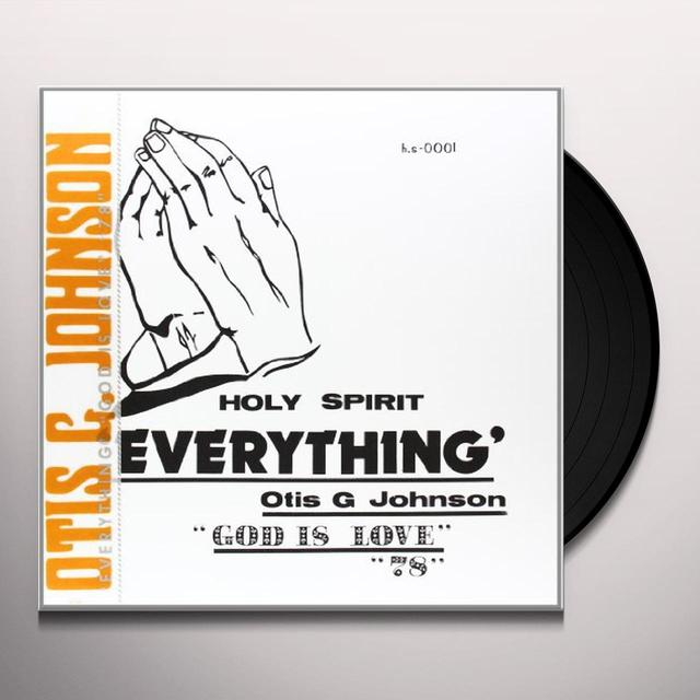 Otis G Johnson EVERYTHING-GOD IS LOVE 78 Vinyl Record
