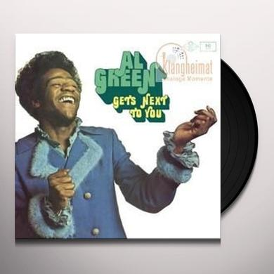 Al Green GETS NEXT TO YOU Vinyl Record