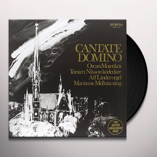 Motettkor / Nilsson / Linder / Mellnas CANTATE DOMINO Vinyl Record