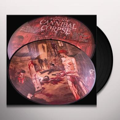 Cannibal Corpse GALLERY OF SUICIDE (25TH ANNIVERSARY) Vinyl Record - Picture Disc