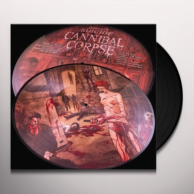 Cannibal Corpse GALLERY OF SUICIDE (25TH ANNIVERSARY) Vinyl Record