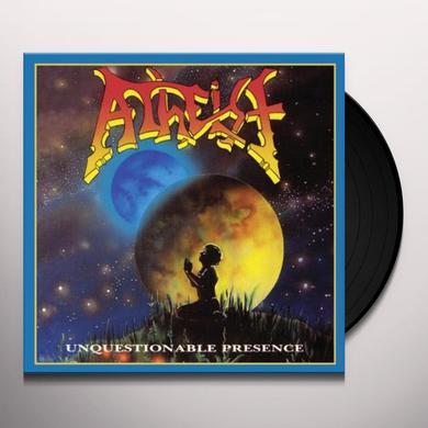 Atheist UNQUESTIONABLE PRESENCE Vinyl Record