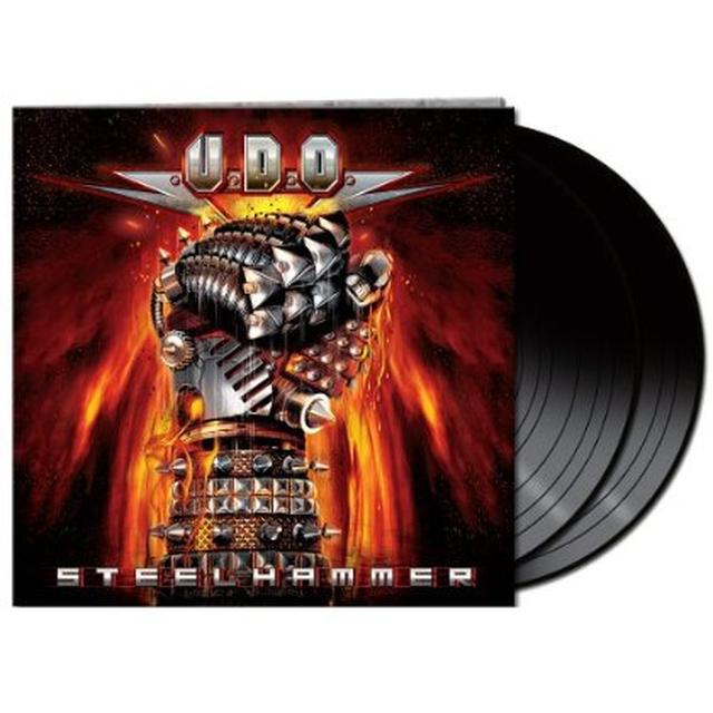 U.D.O. STEELHAMMER Vinyl Record - Limited Edition
