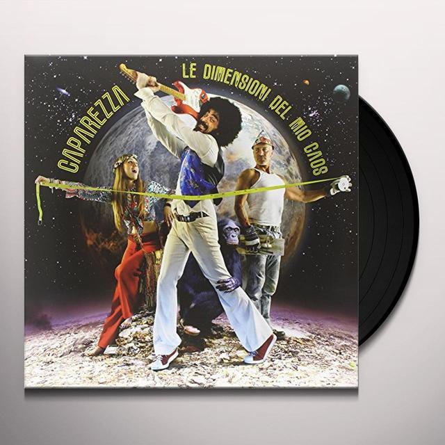 Caparezza LE DIMENSIONI DEL MIO CAOS Vinyl Record