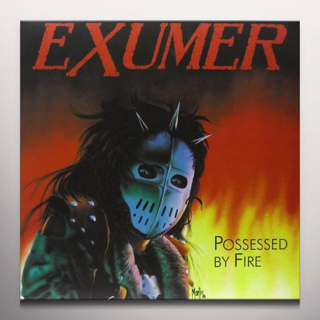 Exhumer POSSESSED BY FIRE Vinyl Record - Bonus Vinyl, Colored Vinyl