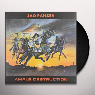 Jag Panzer AMPLE DESTRUCTION Vinyl Record