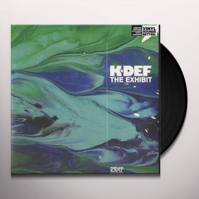 K-Def EXHIBIT (BLUE MARBLE) Vinyl Record