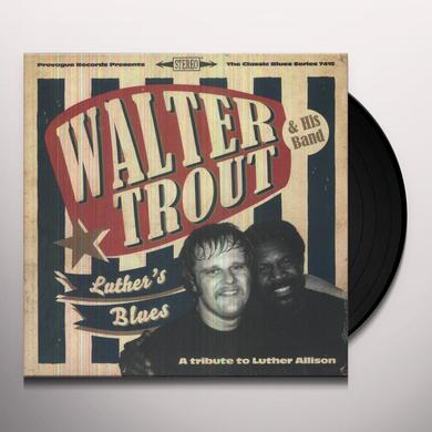 Walter Trout LUTHER'S BLUES - A TRIBUTE TO LUTHER ALLISON Vinyl Record
