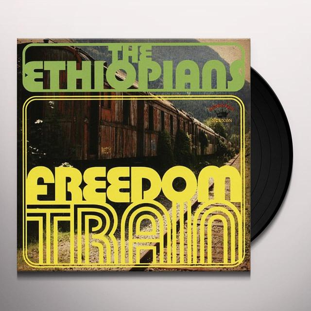 Ethiopians FREEDOM TRAIN Vinyl Record