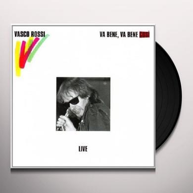 Vasco Rossi VA BENE VA BENE COSI Vinyl Record