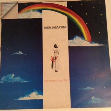 Mia Martini NEL MONDO UNA COSA Vinyl Record