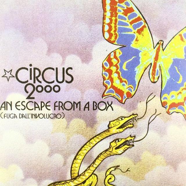 Circus 2000 ESCAPE FROM A BOX (Vinyl)