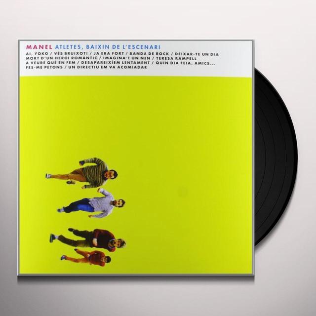 Manel ATLETES BAIXIN DE L'ESCENARI Vinyl Record