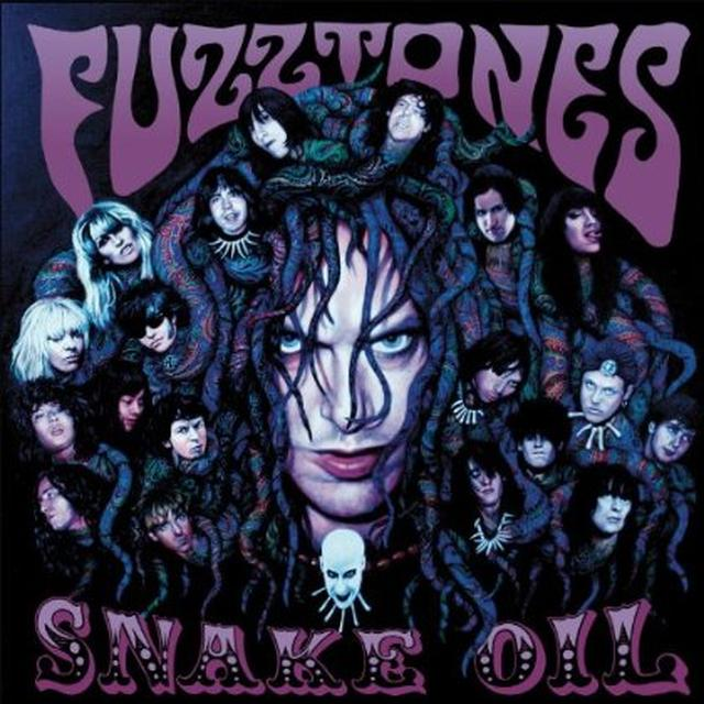 The Fuzztones SNAKE OIL Vinyl Record