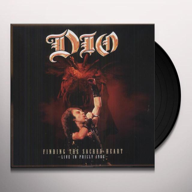 Dio FINDING THE SACRED HEART - LIVE IN PHILLY 86 Vinyl Record