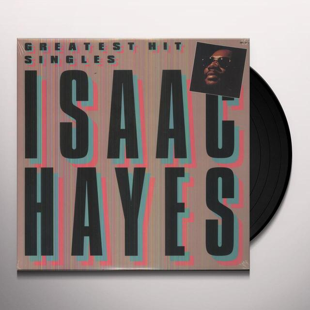 Isaac Hayes GREATEST HIT SINGLES Vinyl Record
