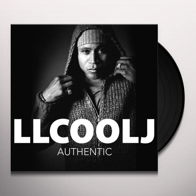 Ll Cool J AUTHENTIC Vinyl Record