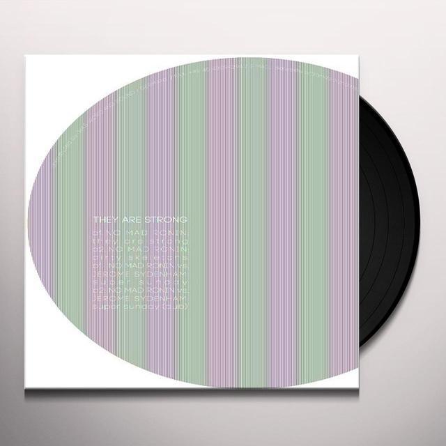 No Mad Ronin Vs. Jerome Sydenham THEY ARE STRONG Vinyl Record