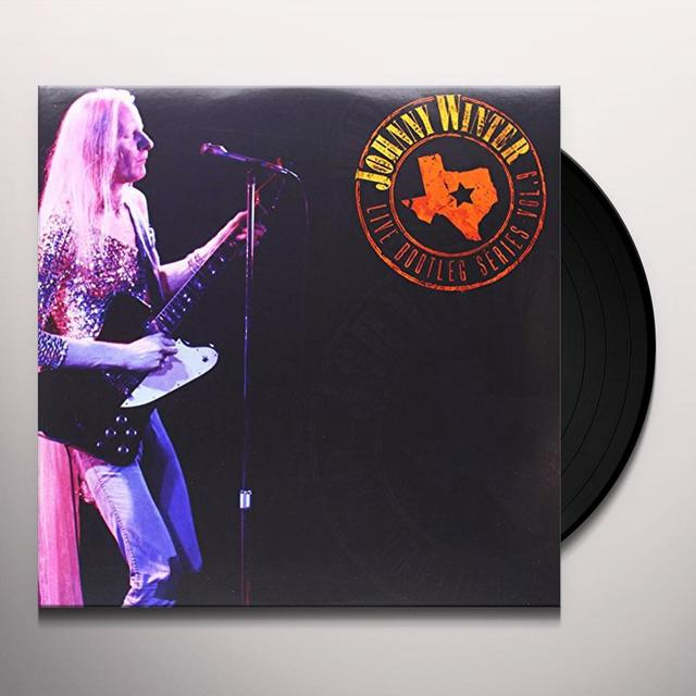 Johnny Winter LIVE BOOTLEG SERIES 9 Vinyl Record - Limited Edition, 180 Gram Pressing