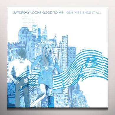 Saturday Looks Good To Me ONE KISS ENDS IT ALL Vinyl Record - Colored Vinyl, Digital Download Included