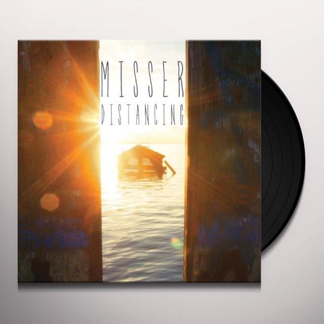 Misser DISTANCING (BONUS CD) Vinyl Record