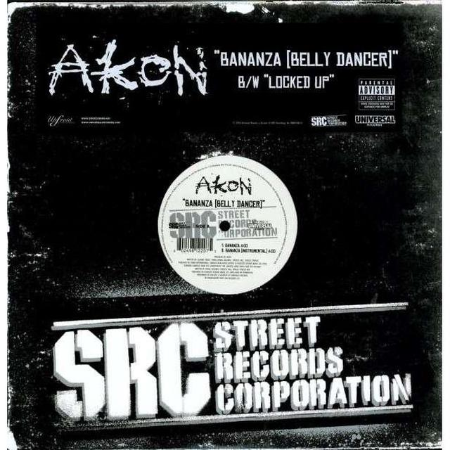 Akon Bananza and Locked Up (Vinyl)