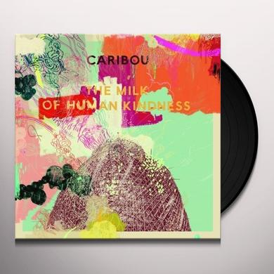 Caribou MILK OF HUMAN KINDNESS Vinyl Record - w/CD