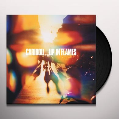Caribou UP IN FLAMES Vinyl Record - w/CD, Limited Edition