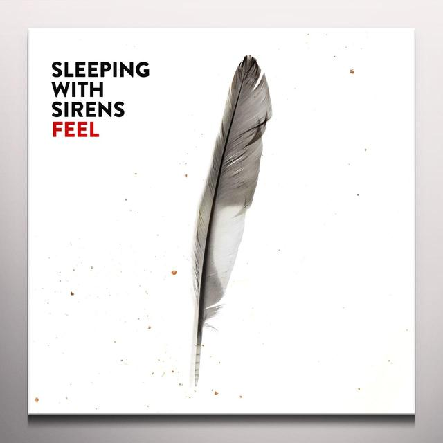 Sleeping With Sirens FEEL Vinyl Record - w/CD, Colored Vinyl