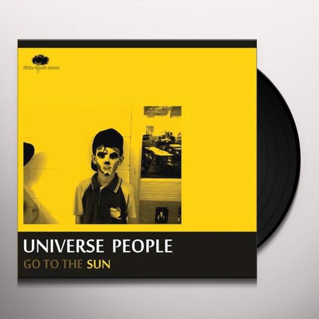 Universe People GO TO THE SUN Vinyl Record