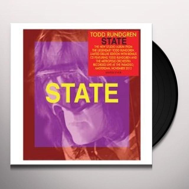 Todd Rundgren STATE Vinyl Record