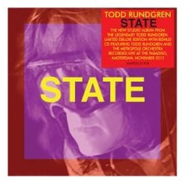 Todd Rundgren STATE Vinyl Record - 180 Gram Pressing