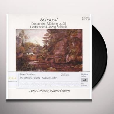 Schubert / Schrier / Olbertz DIE SCHONE MULLERIN Vinyl Record