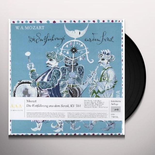Mozart / Dresden Staatskapelle / Suitner DIE ENTFUHRUNG AUS DEM SERAIL Vinyl Record