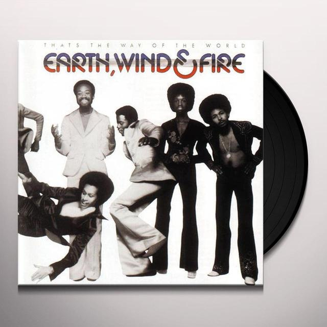 Earth, Wind & Fire THAT'S THE WAY OF THE WORLD Vinyl Record - Limited Edition, 180 Gram Pressing