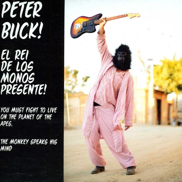 Peter Buck YOU MUST FIGHT TO LIVE / THE MONKEY SPEAKS HIS (Vinyl)