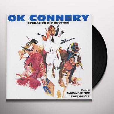 Ennio Morricone OK CONNERY Vinyl Record