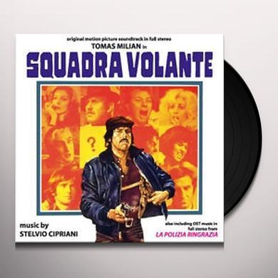 Stelvio Cipriani SQUADRA VOLANTE Vinyl Record