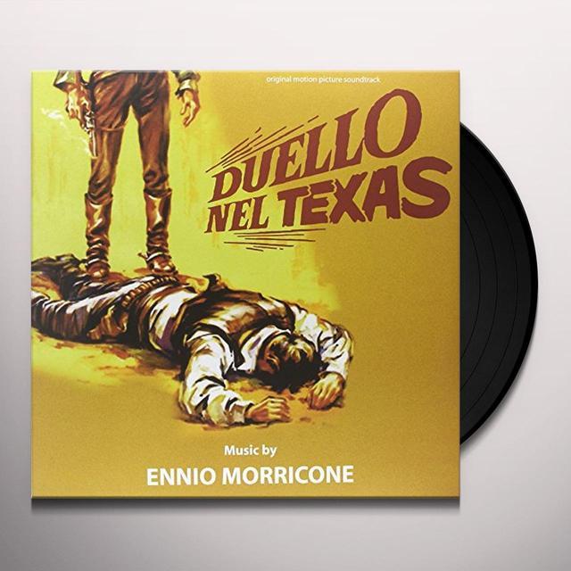 Ennio Morricone DUELLO NEL TEXAS Vinyl Record