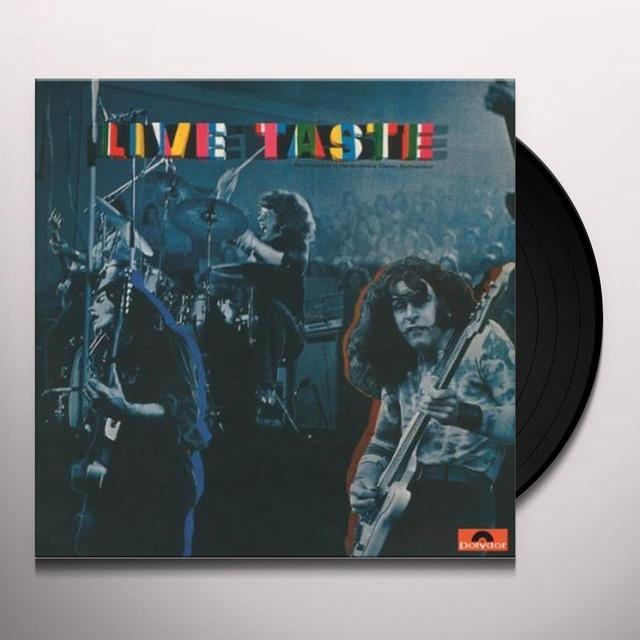 LIVE TASTE Vinyl Record - 180 Gram Pressing
