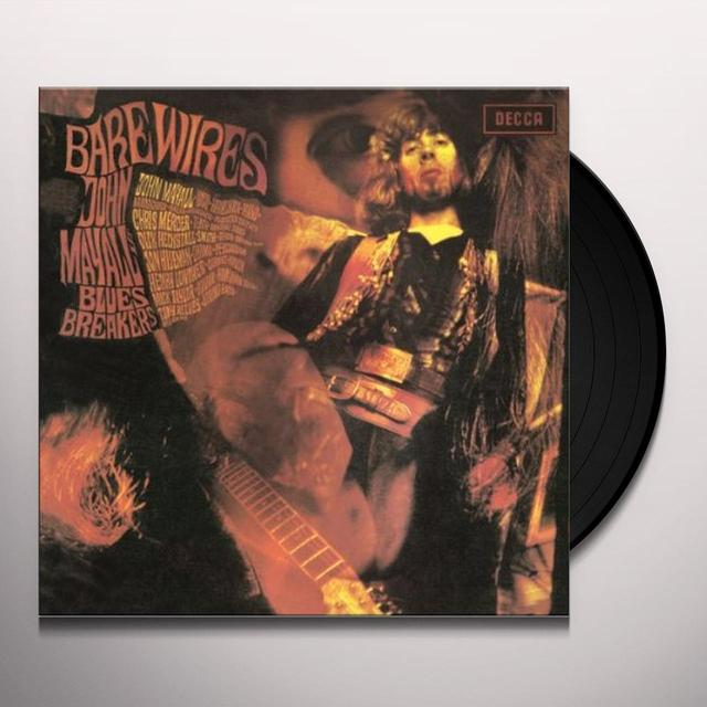 John Mayall & The Bluesbreakers BARE WIRES Vinyl Record - 180 Gram Pressing