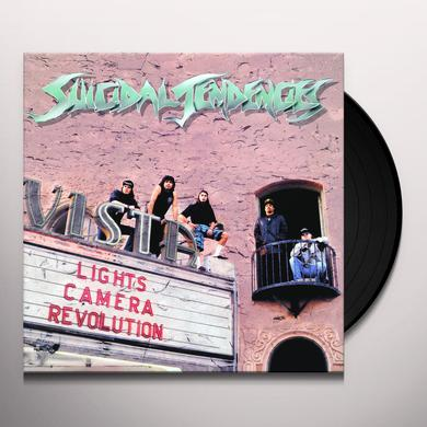 Suicidal Tendencies LIGHTS CAMERA REVOLUTION Vinyl Record