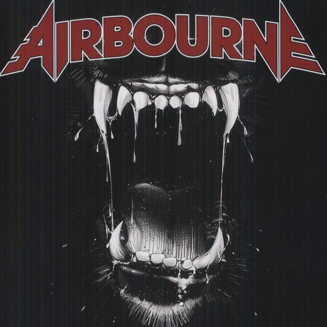 Airbourne BLACK DOG BARKING Vinyl Record