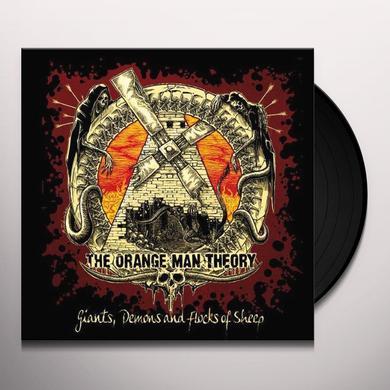 Orange Man Theory GIANTS DEMONS & FLOCKS OF SHEEP Vinyl Record