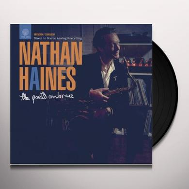 Nathan Haines POET'S EMBRACE Vinyl Record - UK Import