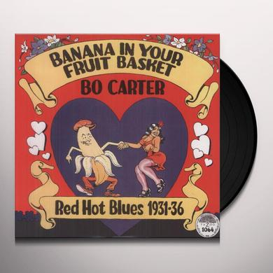Bo Carter BANANA IN YOUR FRUIT BASKET: RED HOT BLUES 1931 Vinyl Record