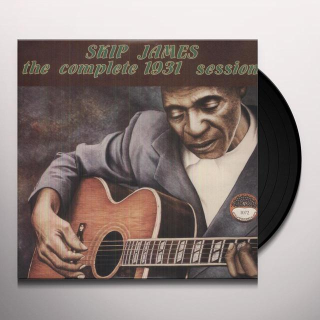Skip James COMPLETE 1931 SESSION Vinyl Record