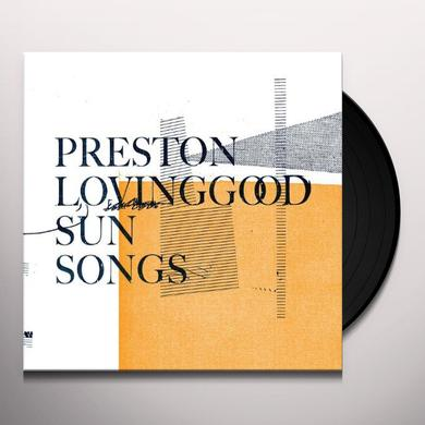 Preston Lovinggood SUN SONGS Vinyl Record